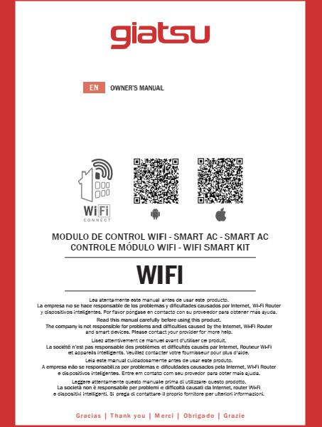 WiFi instrukcija Giatsu Aroma 2