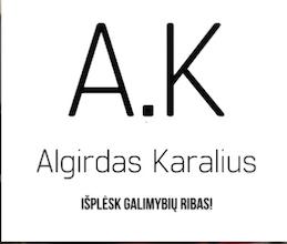 Algirdas Karalius logo
